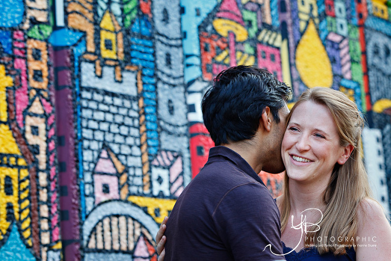 Pre-wedding Portraits at London's Southbank
