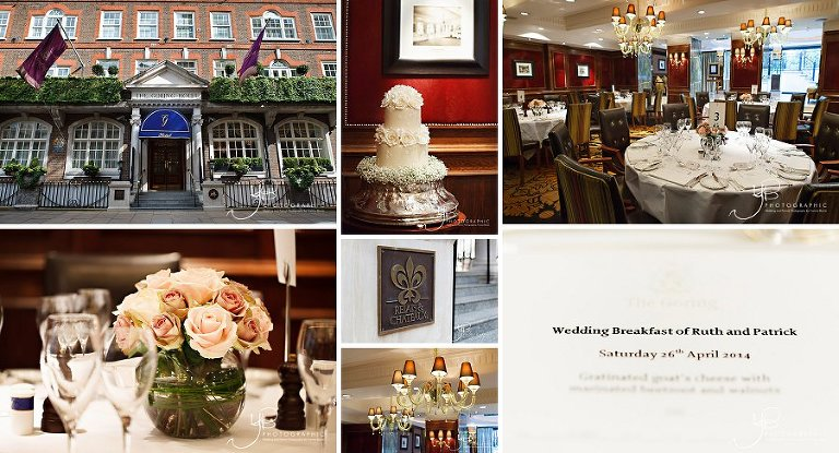 Wedding Photography at the Goring Hotel