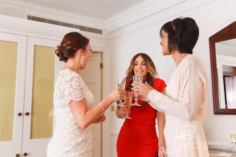 Bridal Preparations at the Mandarin Oriental
