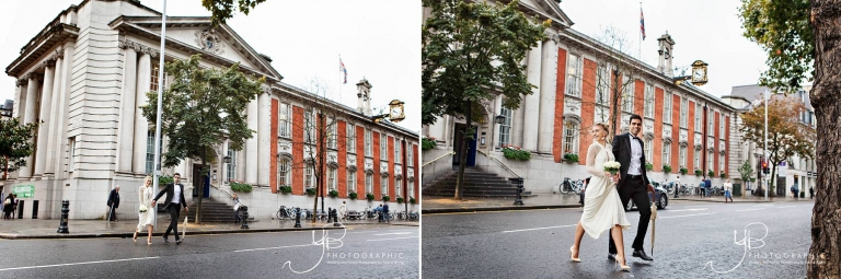 Chelsea Register Office Wedding Portraits by YBPHOTOGRAPHIC