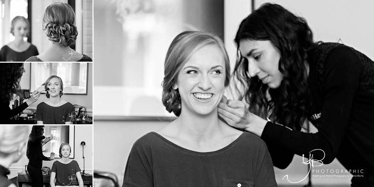 Bridal Preparations at the Ampersand Hotel