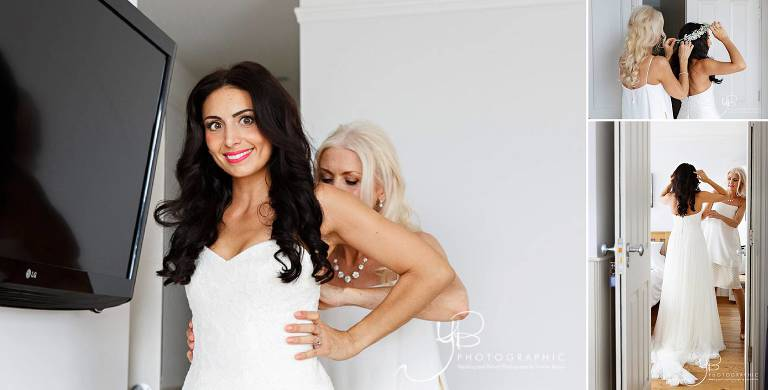 Bridal Preparations at the Continental Hotel in Whitstable