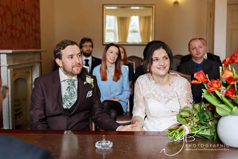 Winter Wedding at Southwark Register Office