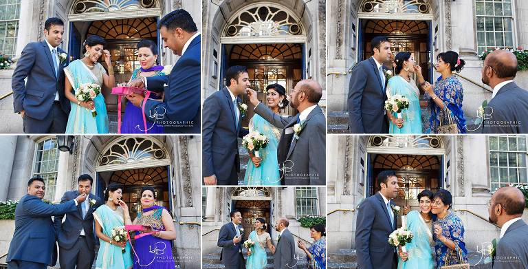 Colourful Asian Summer Wedding At Chelsea Register Office