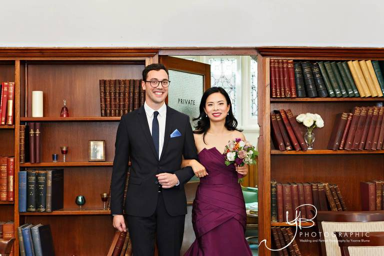 Summer Wedding at Mayfair Library