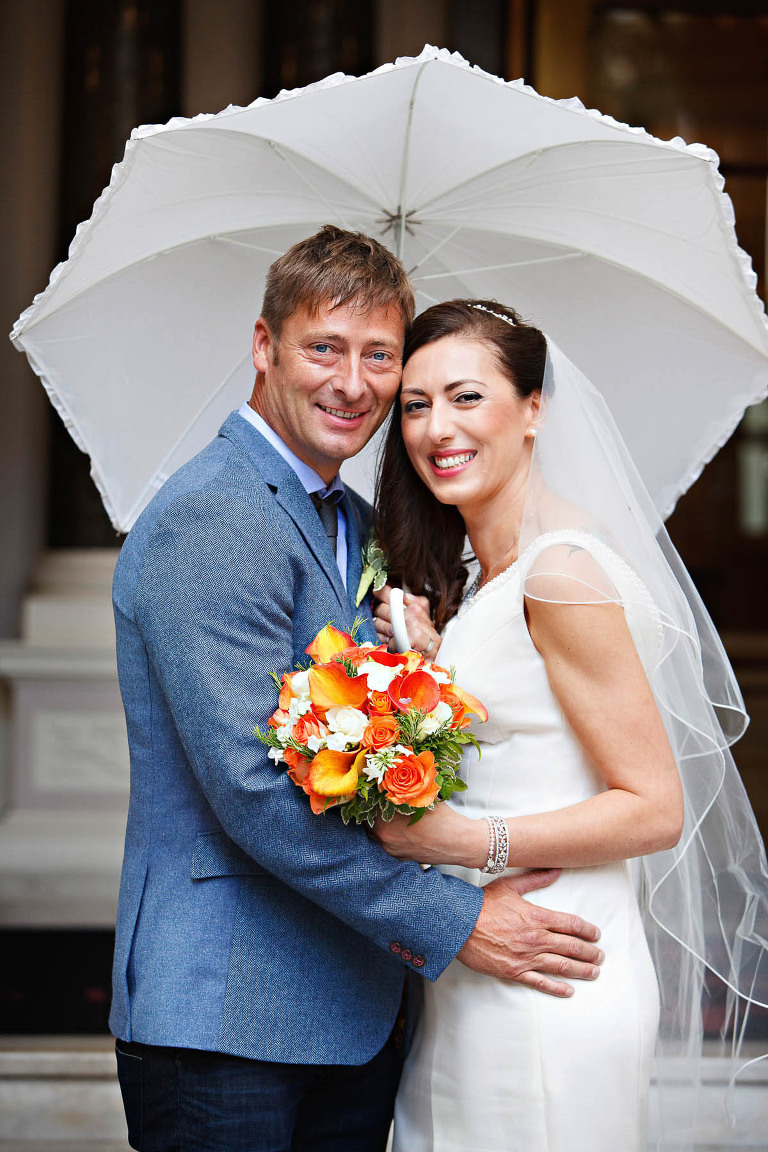 What to do if it rains on your wedding day - advice from an experienced wedding photographer in London