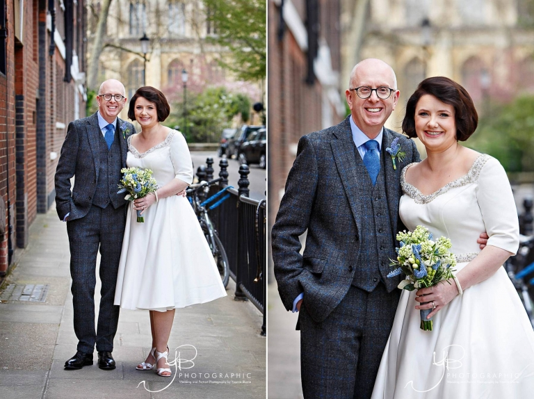 Spring wedding portraits in Chelsea by YBPHOTOGRAPHIC