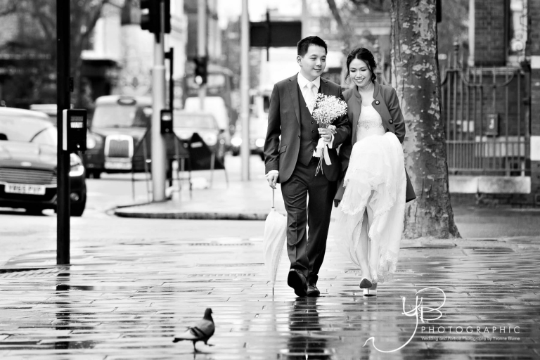 Chinese Bride and Groom Wedding Portraits in Chelsea by YBPHOTOGRAPIHC