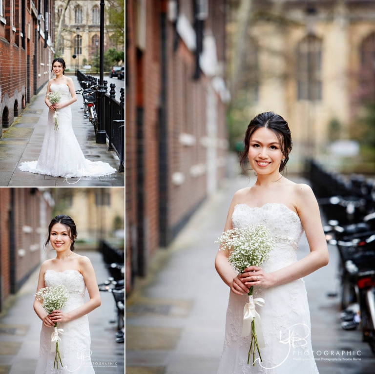 Chinese Bride in London Wedding Portrait by YBPHOTOGRAPHIC