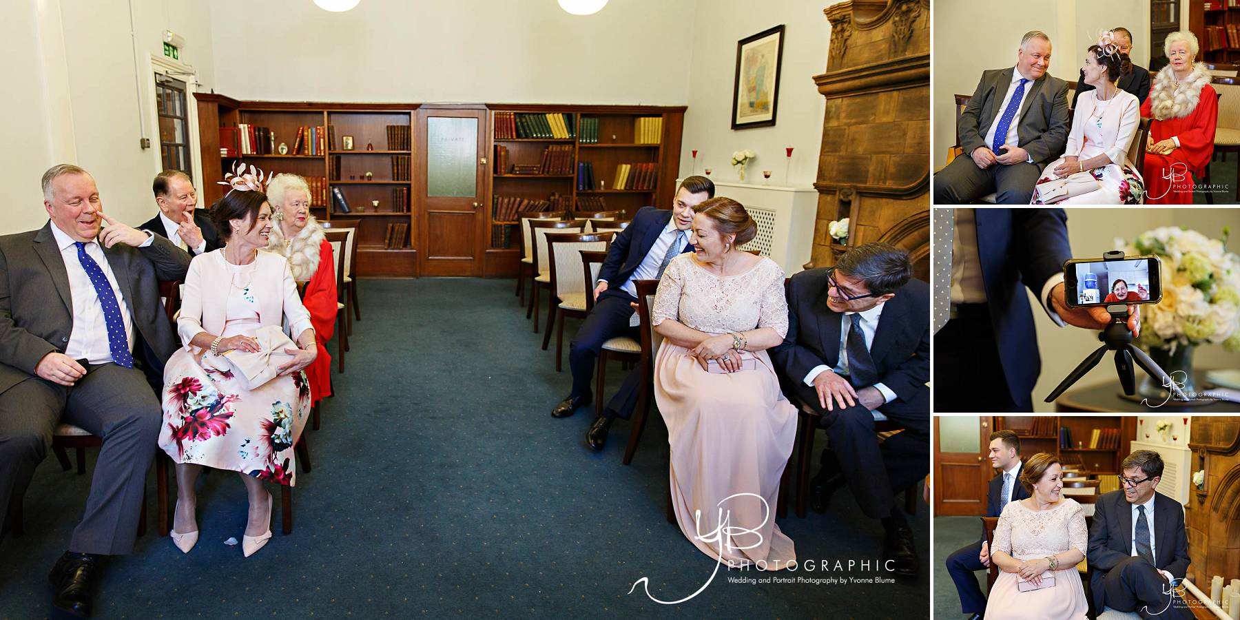 Westminster Register Office Wedding Photos at Mayfair Library