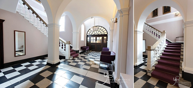 The Waiting Area at Chelsea Old Town Hall, photographed by YBPHOTOGRAPHIC